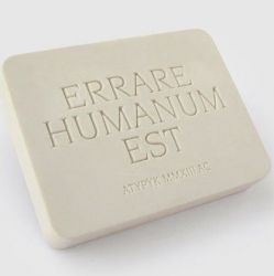 Errare Humanum Eraser | Set of 2
