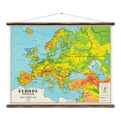 Wandkarte | Europa