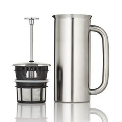 P7 French Press w/ Coffee Filter 950 ml | Stainless Steel