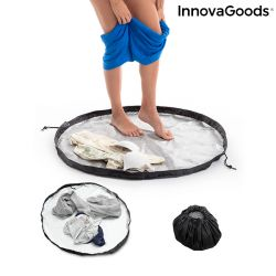 Changing Room Mat and Waterproof Mat GymBag 2 in 1 | Black-Grey
