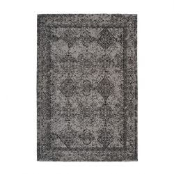 Rug Eunia 300 | Grey & Black