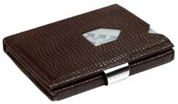 Leather Classic Wallet | Mosaic Dark Brown
