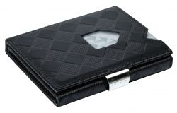Leather Classic Wallet | Black Chess