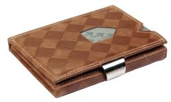 Leather Classic Wallet | Sand Chess