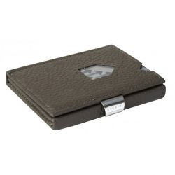 Leather Classic Wallet | Grey Structure