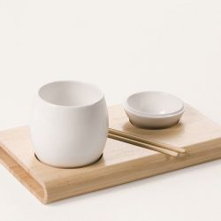 Exist Dish set White