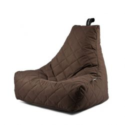 Fauteuil-Sac Outdoor Mighty B Matelassé | Marron