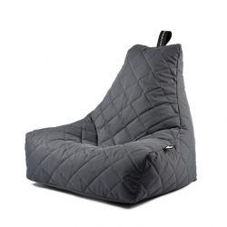 Outdoor Sitzsack Mighty B Gesteppt | Grau