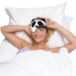 Eye Mask Lien The Panda | Black