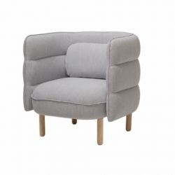 Lounge Chair Ellen | Grey