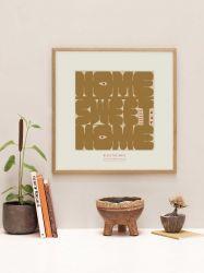 Plakat | Trautes Heim, Glück allein