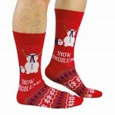 Socken Snow