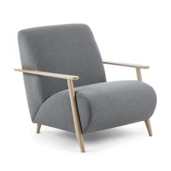 Armchair Kallux 1 Seat | Light Grey