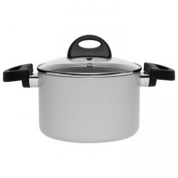 Covered Casserole 16 cm | Grey