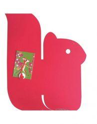 Magnetic Board   Squirrel M Strawberry Fuschia