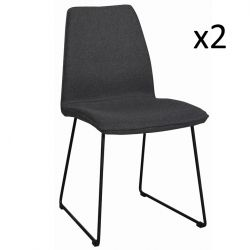 Chair Fairbanks Grey | Set of 2