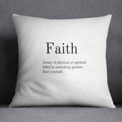Cushion | Faith