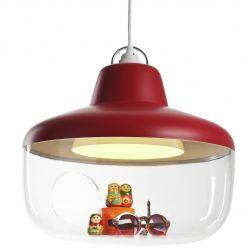 Favorite Things Lamp | Shanghai Red