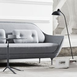 Sofa Favn | Light Grey Color In Three Fabrics