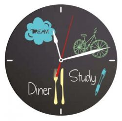 Wall Chalkboard | Clock