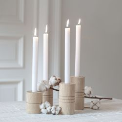 Candle Holders Advent | Set of 4
