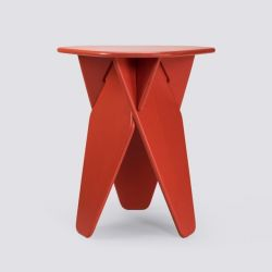 Table d'Appoint Wedge | Rouge