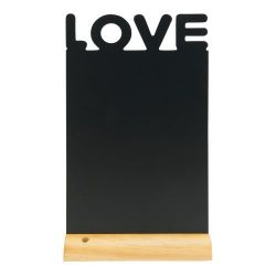 Chalkboard for Table Love