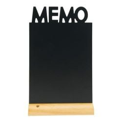 Chalkboard for Table Memo