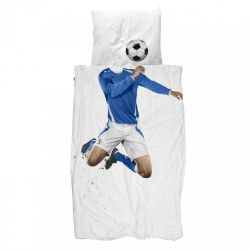 Duvet Cover Soccer Champ | Blue