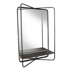 Mirror Vertical Felix | Black Matt