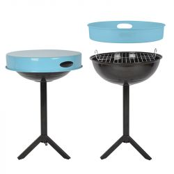 BBQ with Tray | Blue