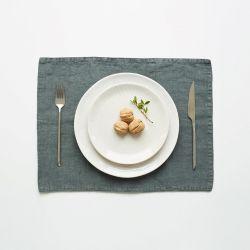 Platzdeckchen 45 x 35 cm | Waldgrün