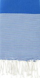 Fouta Greek Blue Stripes