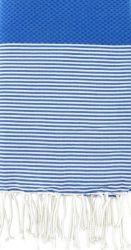 Fouta Streepjes Grieks Blauw