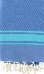 Fouta Grieks Blauw & Turquoise