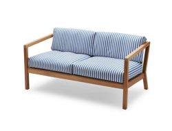 Outdoor Sofa Virkelyst | Blue Stripes