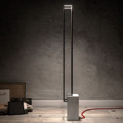 Floor Lamp Filostone | White
