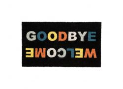 Doormat 'Welcome/Goodbye'