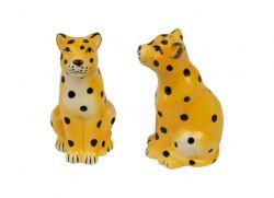 Satz Salz- und Pfefferfässer 'Cheetah'