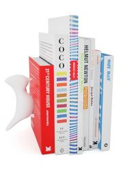 Bookend Bird | White