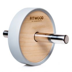 Kjerag Exercise Wheel | Birch Wood & Stainless Steel