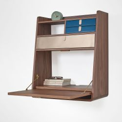 Wall Desk Gaston | Blue