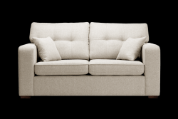 2 Seater Sofa Melvin | Convertible | Cream