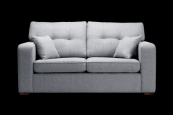2 Seater Sofa Melvin | Convertible | Light Grey