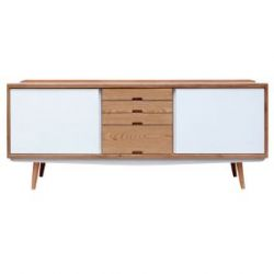 Fifties White Sideboard