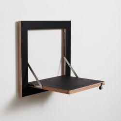 Regal Fläpps 40 x 40 cm | Schwarz