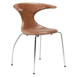 Chair Flair Leather | Light Brown