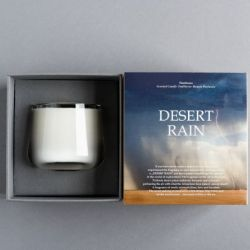 Flambeaux Scented Candle | Desert Rain