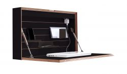 Wall Desk Flatbox | Black