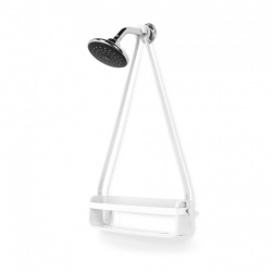 Single Shower Caddy Flex | White